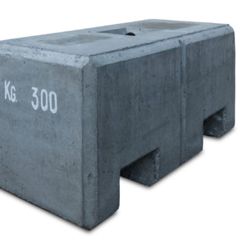 Zavorra in cemento per capannoni